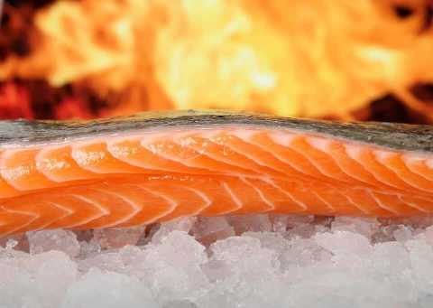 Homemade Salmon Medley
